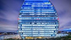 Rubén P. Bescós inmortaliza la sede del BBVA diseñada por Herzog & de Meuron en Madrid