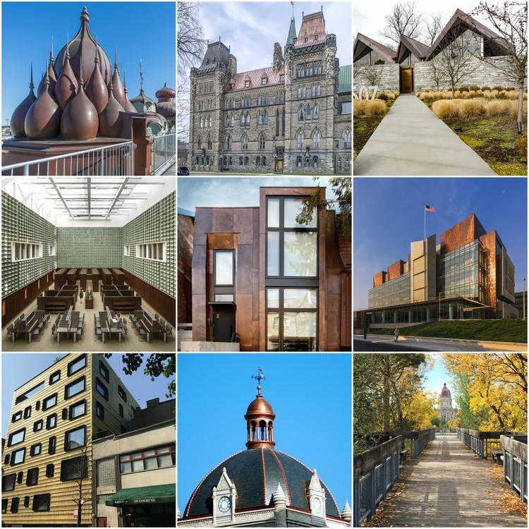 10th Annual North American Copper in Architecture Awards Showcase 15 Innovative Copper Designs, Courtesy of North American Copper in Architecture Awards