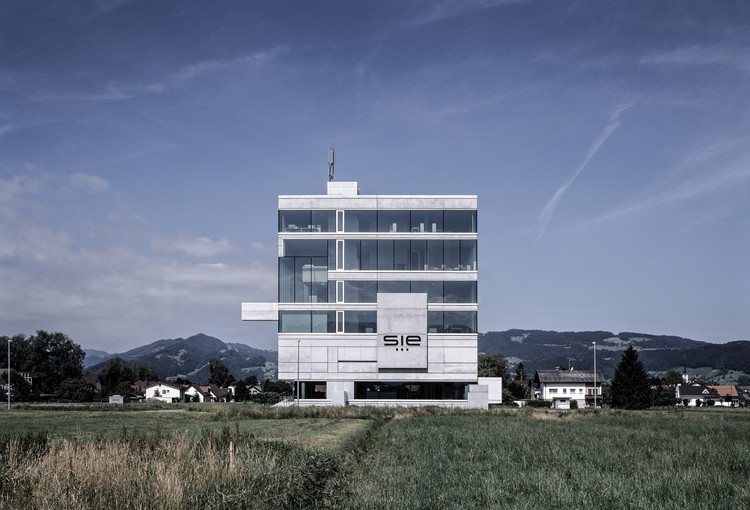 Headquarter System Industrie Electronic   / Marte.Marte Architects, © Bruno Klomfar