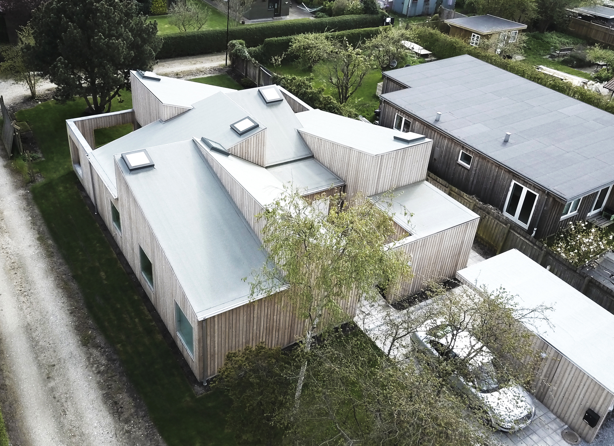 The Roof House Sigurd Larsen Archdaily