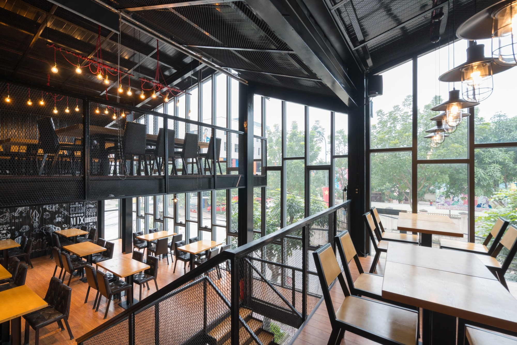 gallery of nh h ng crabsark crawfish restaurant tnt architects 6. Black Bedroom Furniture Sets. Home Design Ideas