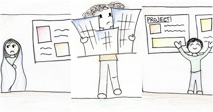 13 Habilidades não relacionadas à arquitetura que se aprendem na faculdade de Arquitetura, © Megan Fowler