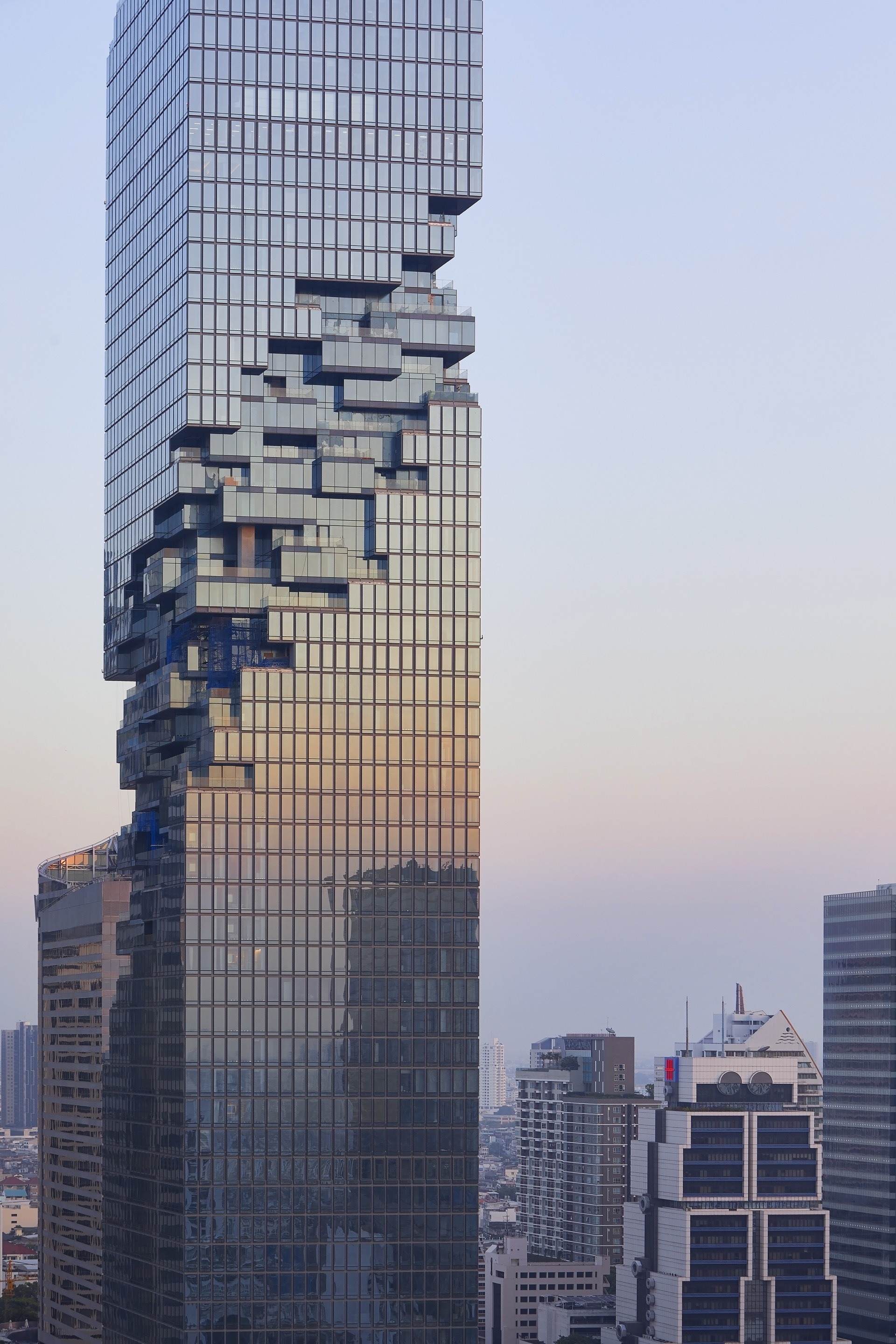Gallery of b ro ole scheeren 39 s mahanakhon tower for Modern building construction