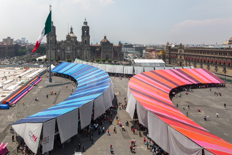 Conoce el pabellón de la Feria de las Culturas Amigas 2017 por Colectivo de Uno en Ciudad de México, © Rafael Gamo