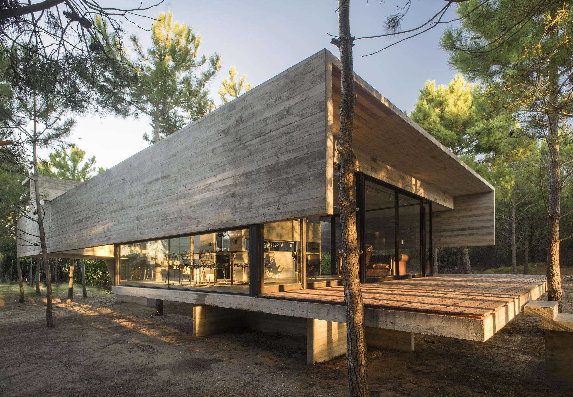 Galer a de casa s j luciano kruk 2 for Construction maison minimaliste