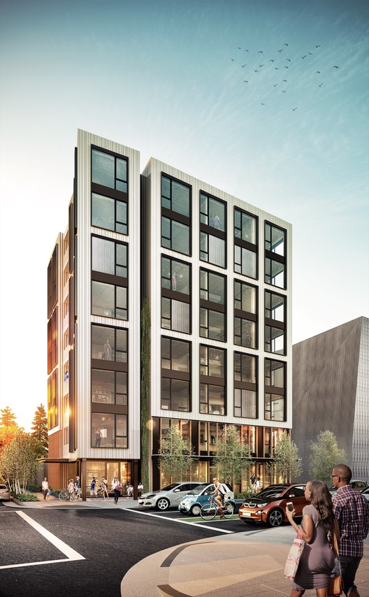 PATH Architecture's Catalytic Condominium in Portland is the Tallest Timber Building in the US , via Baumberger Studio
