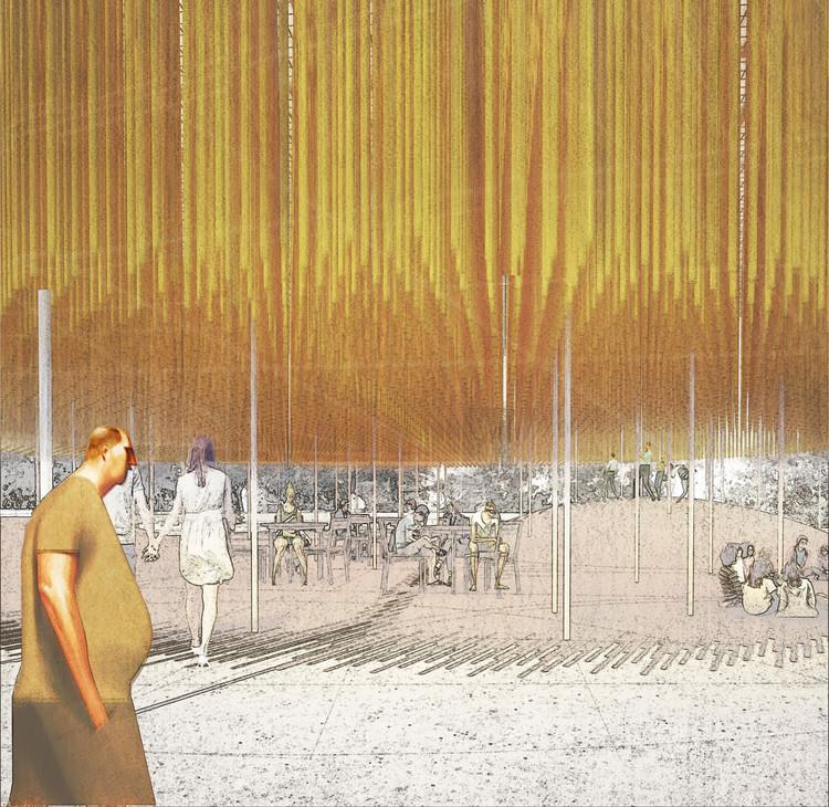 Domingo Arancibia gana YAP_Constructo 8 con proyecto inspirado en el cochayuyo, © Domingo Arancibia
