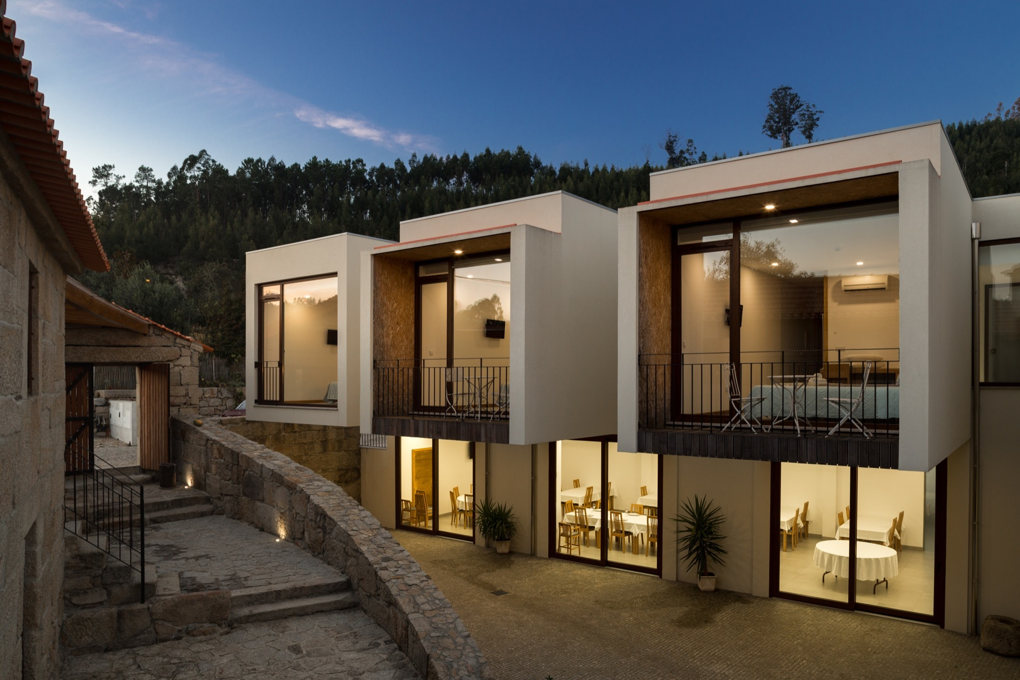 Galeria de hotel rural r mulo neto 1 for Design boutique hotels slowenien