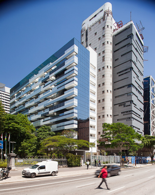 Paulista Tower / Königsberger Vannucchi Arquitetos Associados, © Pedro Vannucchi