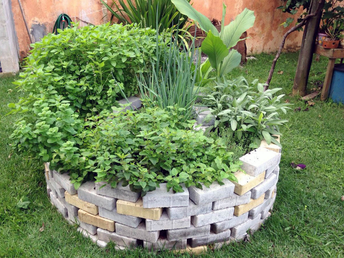 Learn More About Permaculture by Building Your Own Herb Spiral