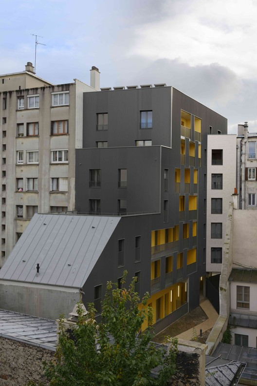 Mercadet  / Verdier + Rebiere architects + F. Commerçon architect, © Nicolas Fussler