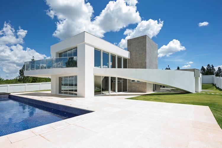 Casa CA  / Arquitetura 1, © Haruo Mikami
