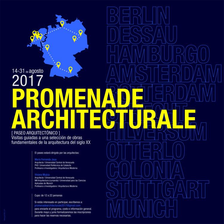 Promenade Architecturale | Paseo Arquitectónico 2017, Diseño Gráfico www.guaolab.com