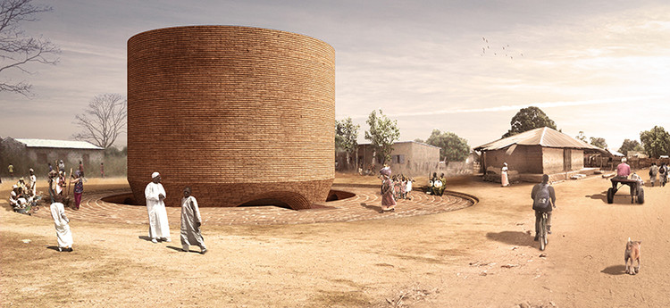 Chapel Proposal in Senegal Uses Local Materials to Unite the Community, Courtesy of Cassidy+Wilson