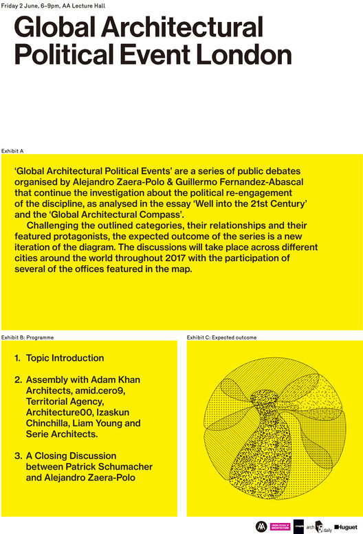 Global Architectural Political Event London, Global Architectural Political Event London_AA
