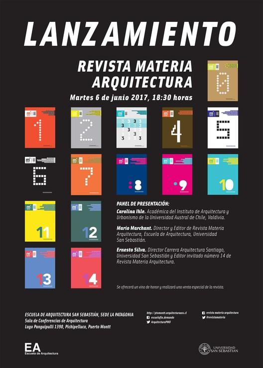 Lanzamiento Revista Materia Arquitectura | Puerto Montt, Revista Materia Arquitectura