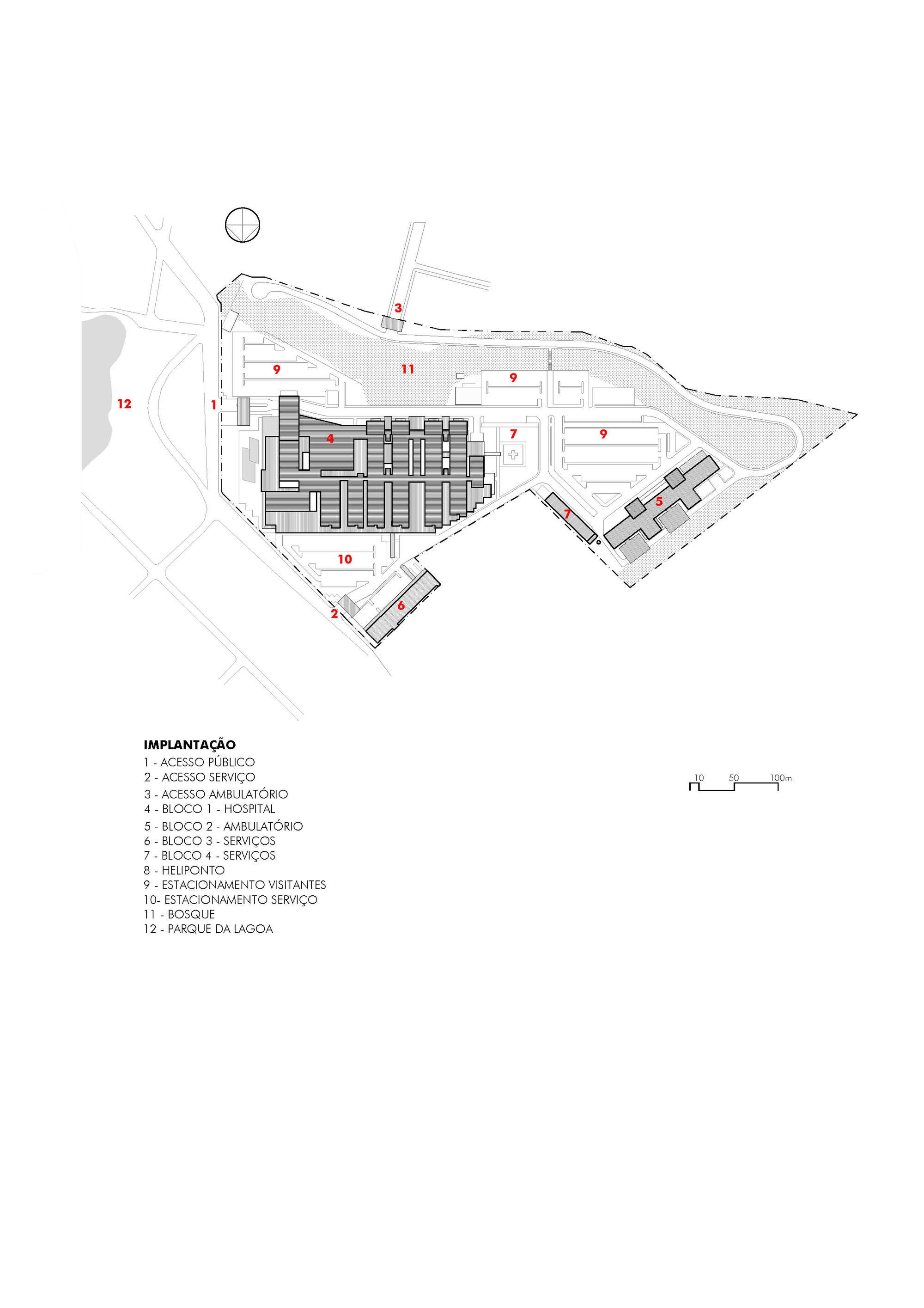 Rocio's Hospital / Manoel Coelho Arquitetura e Design
