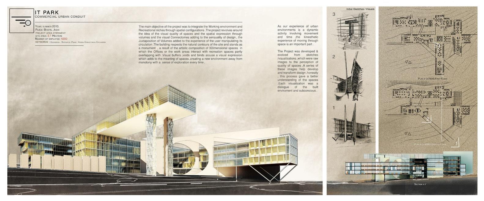 architecture design portfolio layout.  Architecture The Best Architecture Portfolio DesignsSubmitted By Aayush Jindal With Design Layout U