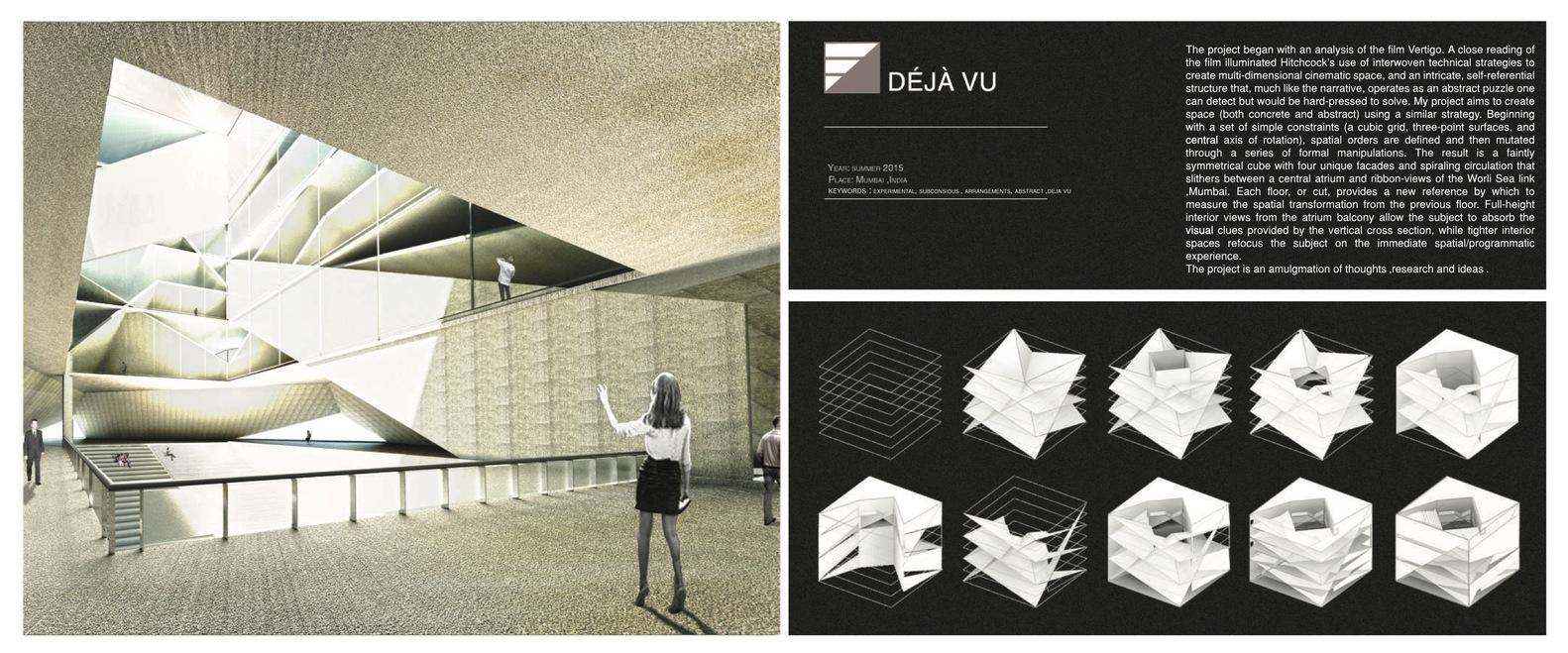 Gallery of The Best Architecture Portfolio Designs 1
