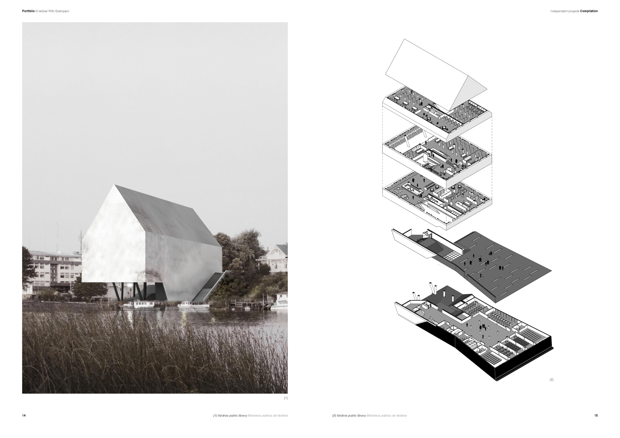 Gallery of the best architecture portfolio designs 15 for Architecture dessin interieur