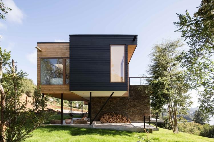 Wulf House / Pe+Br+Re arquitectos, © Nico Saieh