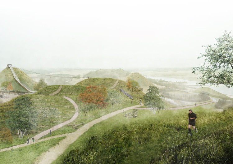 SLA Wins Competition to Design a New Cultural Landscape in Denmark , Courtesy of SLA