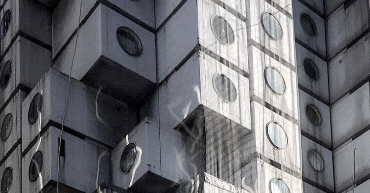 Conversa sobre arquitetura japonesa com Gabriel Kogan, Nakagin Capsule Tower / Kisho Kurokawa