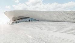 Las texturas y superficies geométricas del MAAT de AL_A en Lisboa
