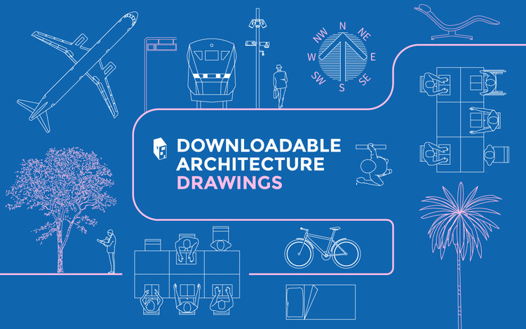 A Library Of Downloadable Architecture Drawings In Dwg Format