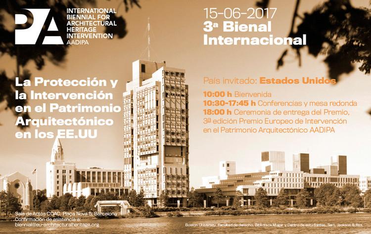 Tercera edición de la bienal AADIPA abordará la protección y la intervención en el patrimonio
