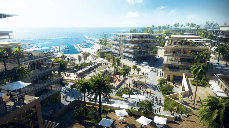 10 Design Unveils Masterplan for Mediterranean Development Along Egypt's Coast, Courtesy of 10 Design