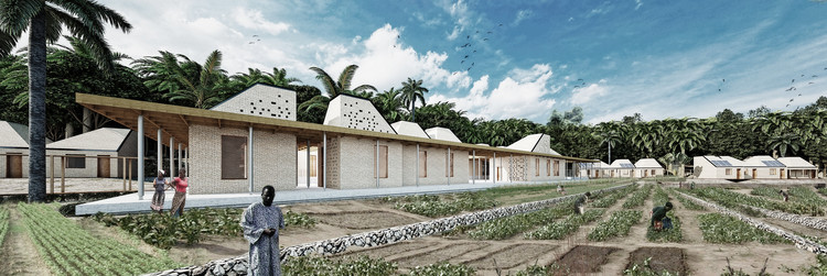 MASA Studio's Competition-Winning Hostels Combine Modularity and Tradition for Cancer Patients, via MASA Studio