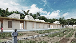 MASA Studio's Competition-Winning Hostels Combine Modularity and Tradition for Cancer Patients