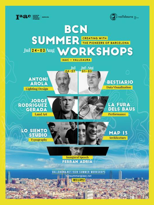 Barcelona Summer Workshops, BARCELONA SUMMER WORKSHOPS