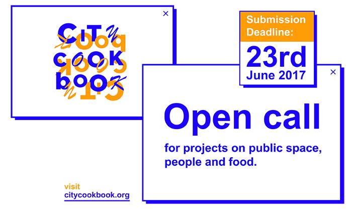 City Cook Book busca iniciativas que fomenten el uso del espacio público a través de la comida, City Cook Book: Convocatoria Abierta
