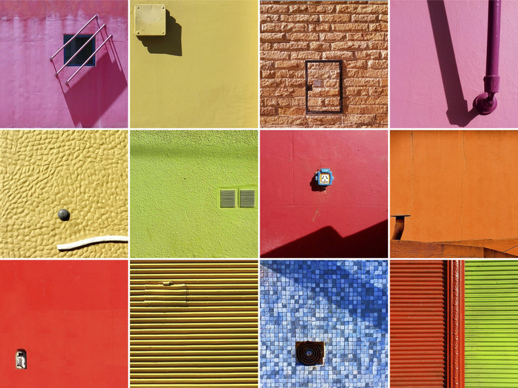 The Vibrant Colors and Details of Argentine Architecture in 100 Minimalist Photographs, Cortesía de @hernanmat