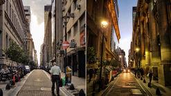 Las perspectivas del trazado en damero de Buenos Aires, bajo el lente de Leandro Grovas