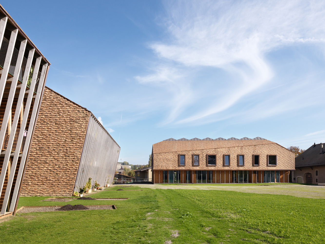 Two Residential Buildings A Boarding School And An Activity Centre David Gagnebin