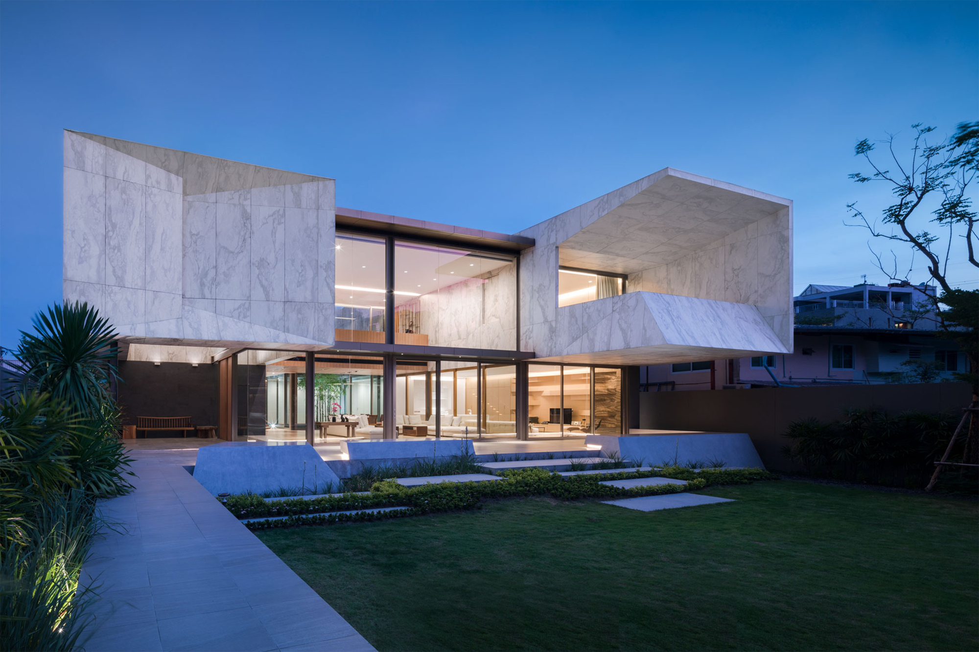 Marble House / Openbox Architects   ArchDaily