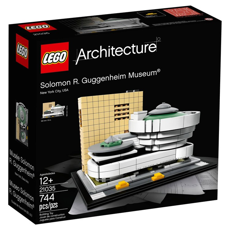 LEGO's Latest Landmark: Frank Lloyd Wright's Guggenheim Museum in New York, via Target