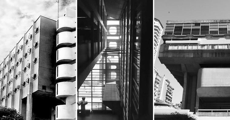 10 proyectos de Clorindo Testa que todo arquitecto argentino debe conocer, vía In order - Flickr user: santiagocalle CC BY-SA 2.0 / Wikipedia User: Catalina Ibarra CC BY-SA 4.0 / Flickr User: Gustavo Gomes CC BY 2.0