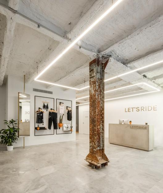 LET's RIDE Lafayette / DAS-studio, Courtesy of DAS-studio