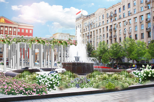 Moscow Flower Streets: Open International Urban Landscaping And Design  Competition , Moscow.Flowers.
