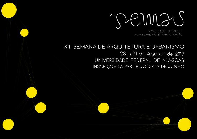 XIII Semana de Arquitetura e Urbanismo