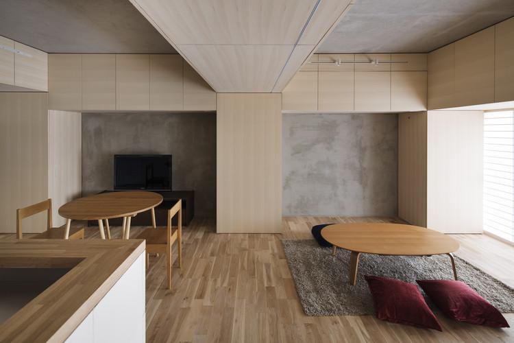 Pillar Form - Beam Form / PERSIMMON HILLS Architects, © Kenta Hasegawa