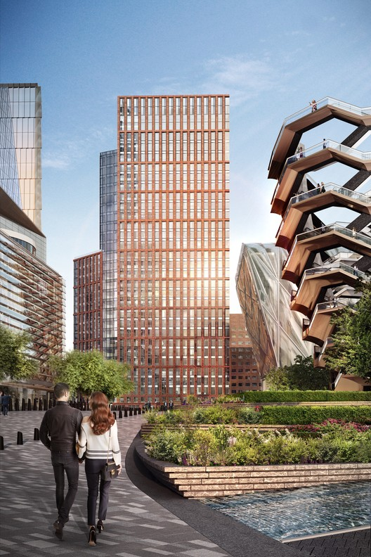 Renderings Revealed for New Residential Building at Hudson Yards in New York, Courtesy of Related Companies