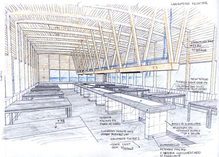 Intercambio llevará a arquitectos brasileños a conocer construcciones de madera en Chile, Estação Costeira de Pesquisas Marítimas / Martin Hurtado Arquitectos. Image Cortesia de Martin Hurtado