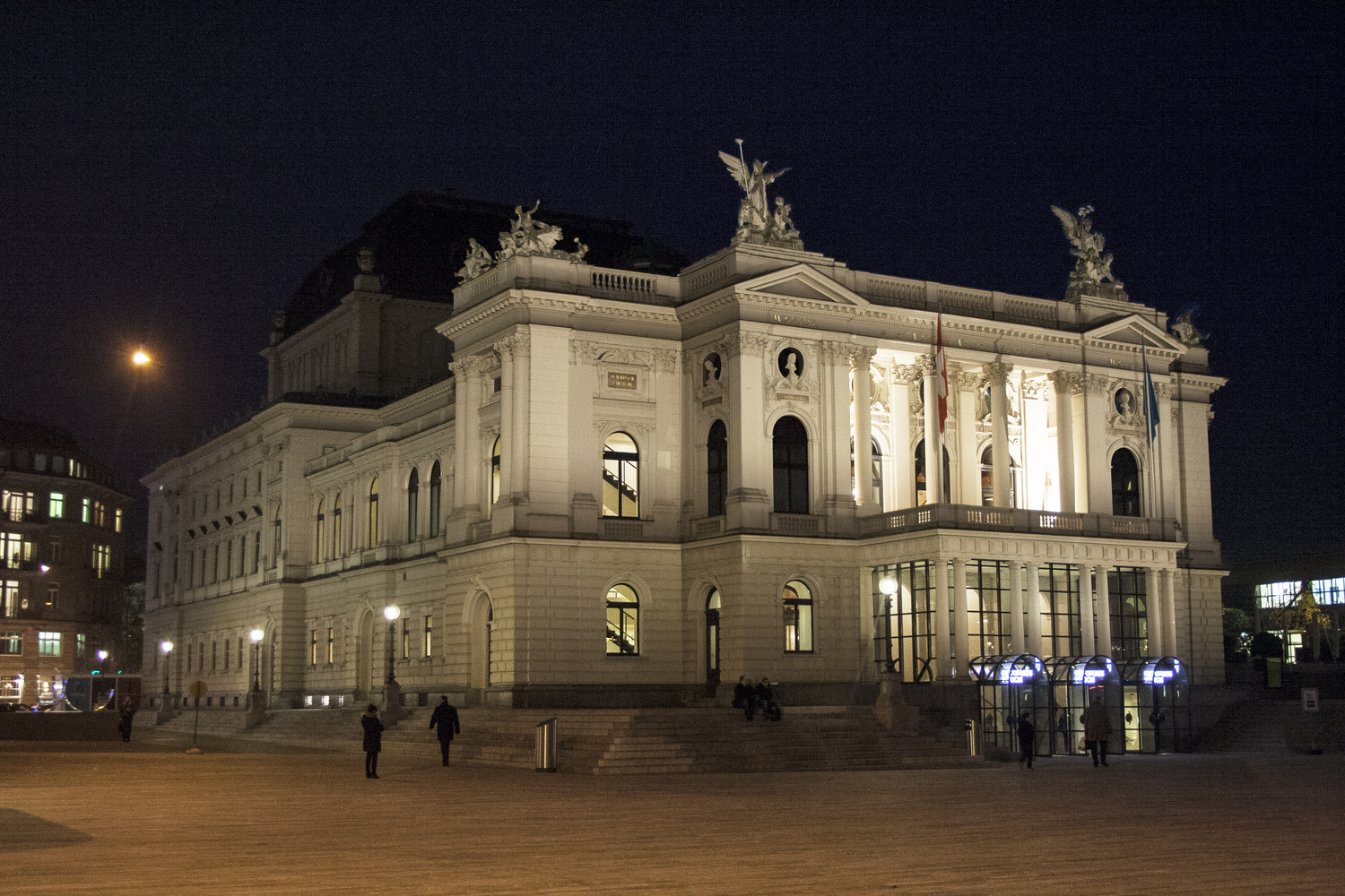 Gallery of how zurich s understated night lighting strategy