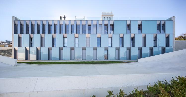 Colegio Mayor Jaizkibel / Otxotorena Arquitectos, © Rubén Pérez Bescós