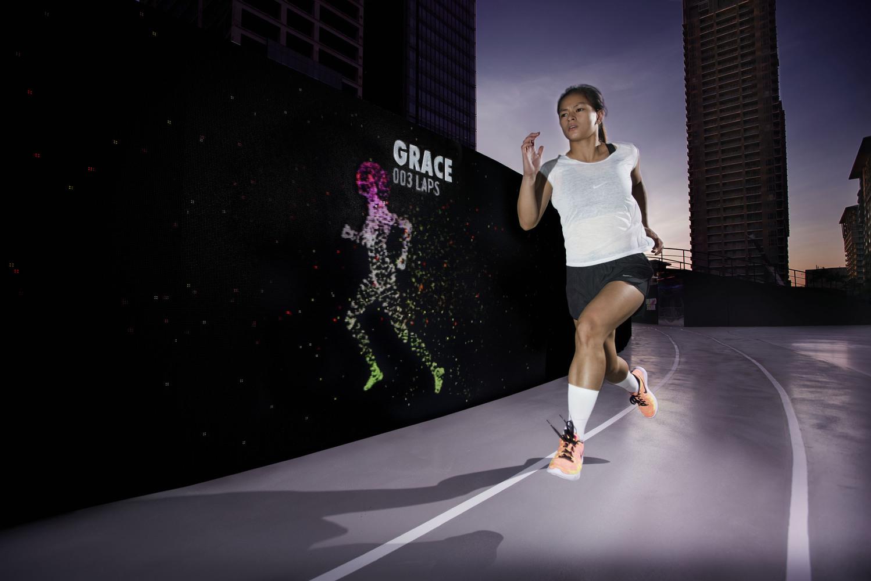 quality design 19113 e276d Nike Designs Shoe-Shaped LED Track in Manila